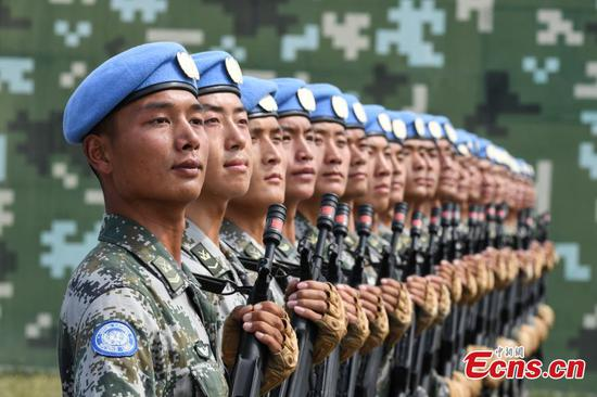 15,000 military personnel train for National Day parade